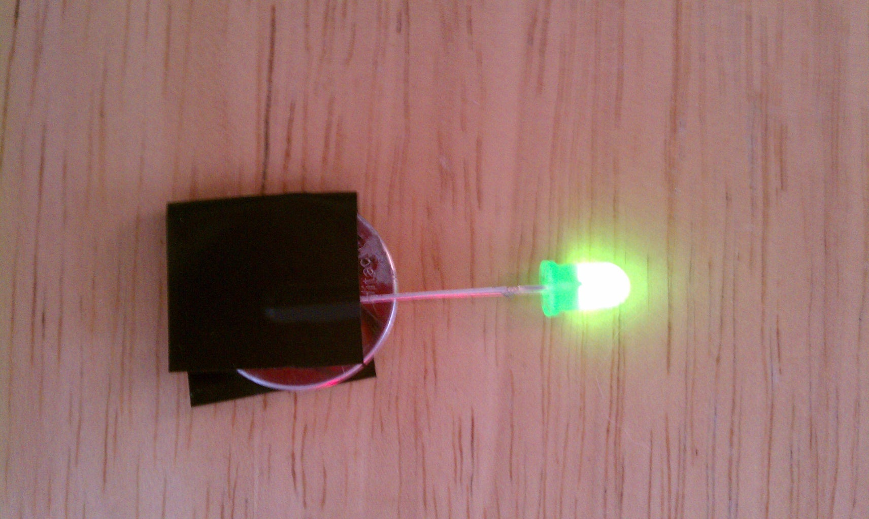 Testing and Securing the LEDs