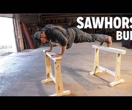 Mortise & Tenon Sawhorses