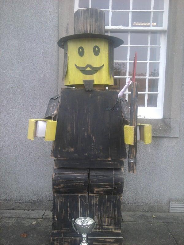 Lego-Man Guy Fawkes