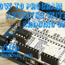 How to program ATtiny85 with Arduino UNO