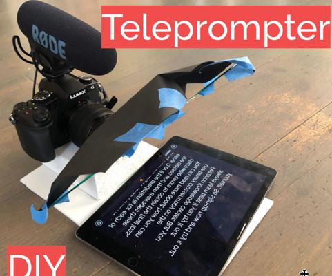 DIY Teleprompter