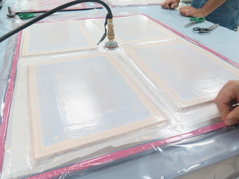 Mold Core Prep - Vacuum Bag 11