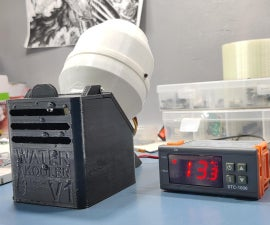 3D Printed Mini Air Kooler (the OverEngineered Edition)