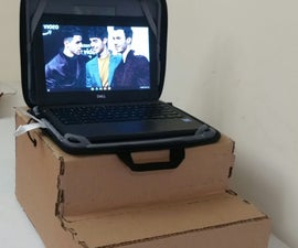 How to Make a Cardboard Standing Desk