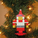 Mrs. Claus LEGO Ornament Build