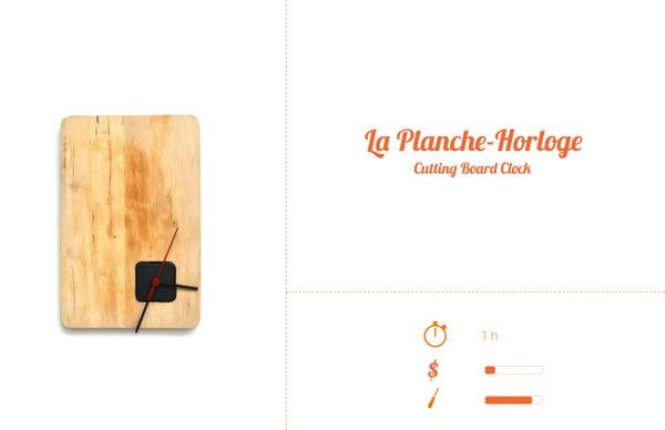 Horloge / Planche a Decouper