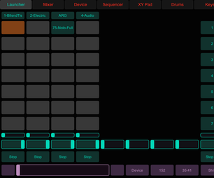 TouchOSC Controlling Ableton Live in OSX