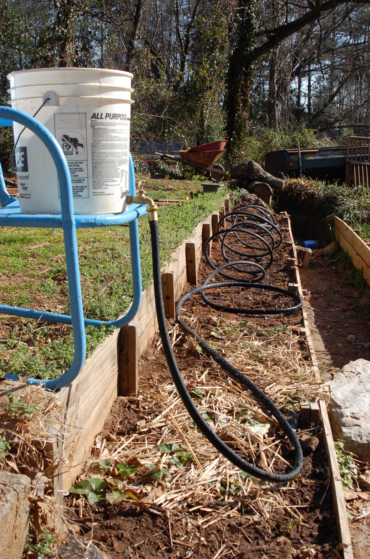Portable Gravity Irrigator