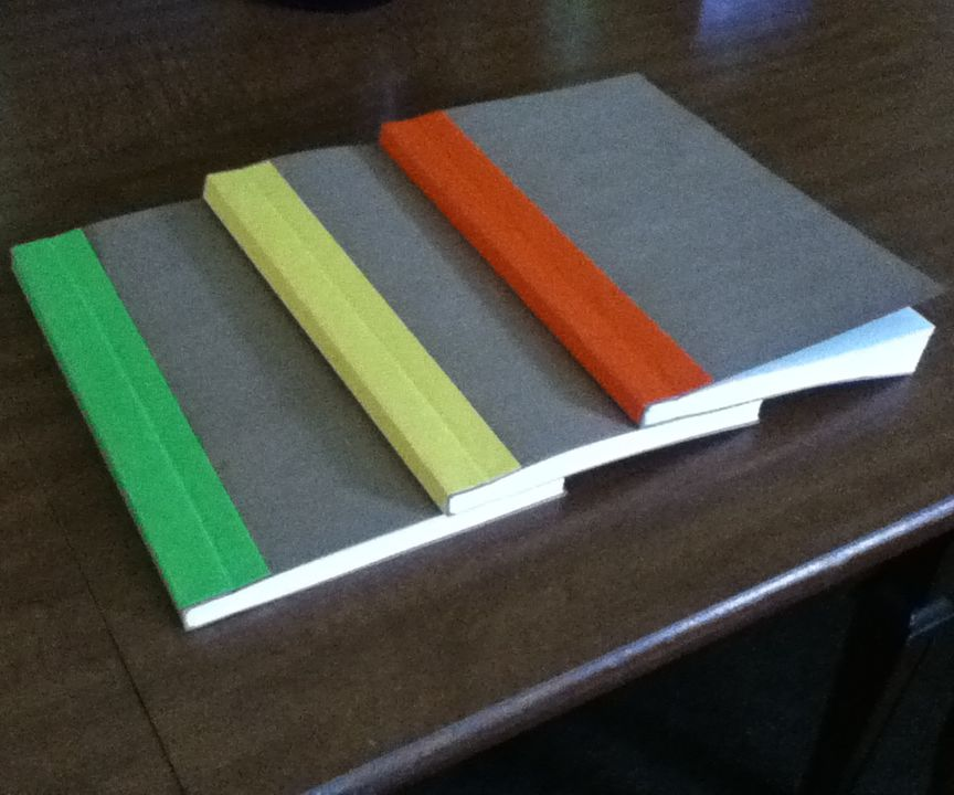 Homemade Notebook from 100% Upcycled Materials