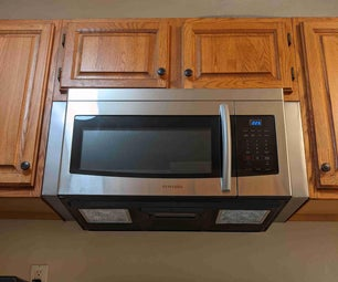 Stainless Steel Cabinet Fillers for Over-the-Range Microwave
