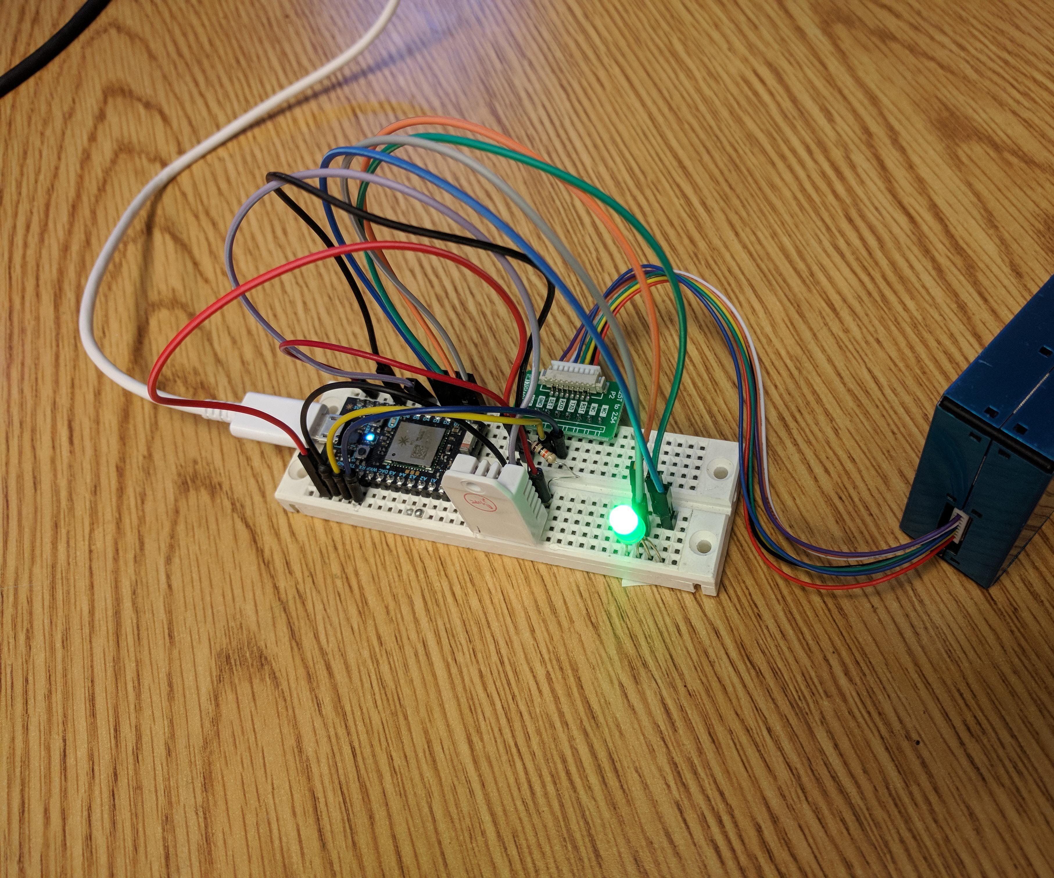Photon Air Sensor - Monitor PM Levels