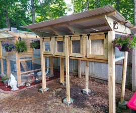 The Backyard Rabbit (or Quail) Coop
