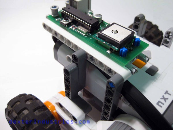 GPS Guided Lego Robot