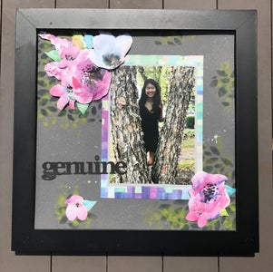 Create an Eco Friendly Mixed Media Scrapbook Page!