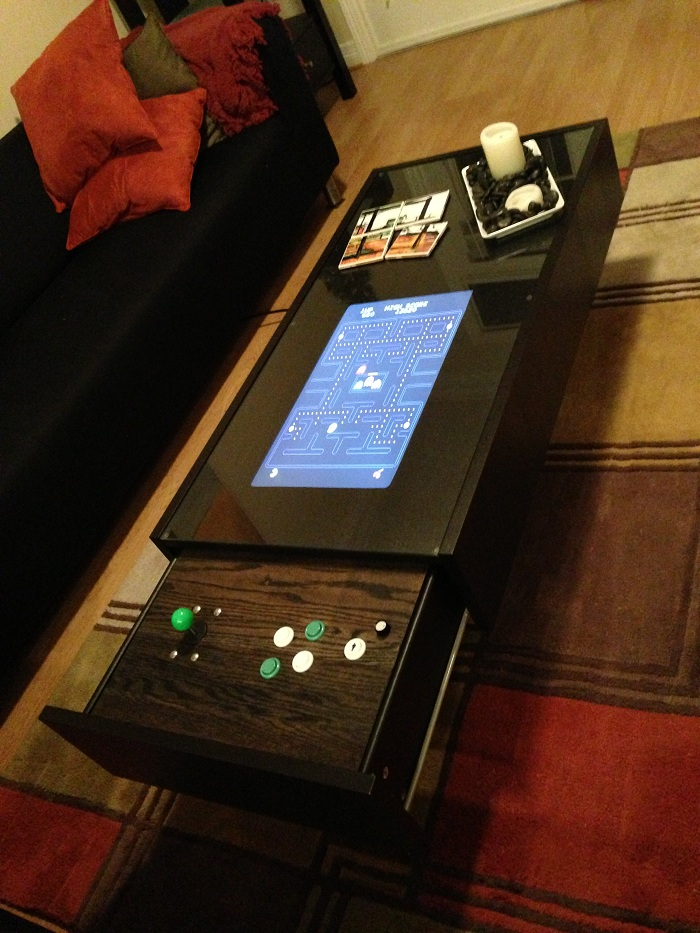 My $400 Ikea Ramvik Arcade Table