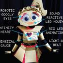 *6 WAYS* to Make a Cardboard Robot Costume REALLY Robotic