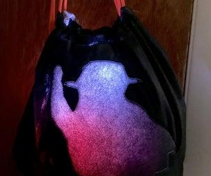 Light Up Protest Bot Bag Backpack