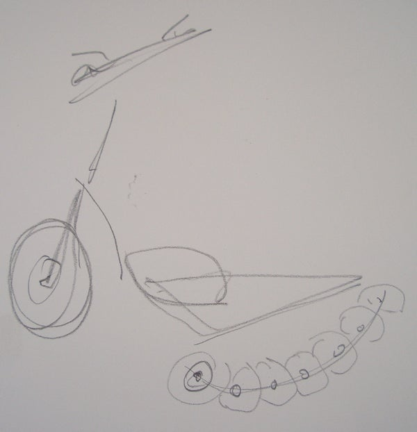 Transition Electric Scooter.