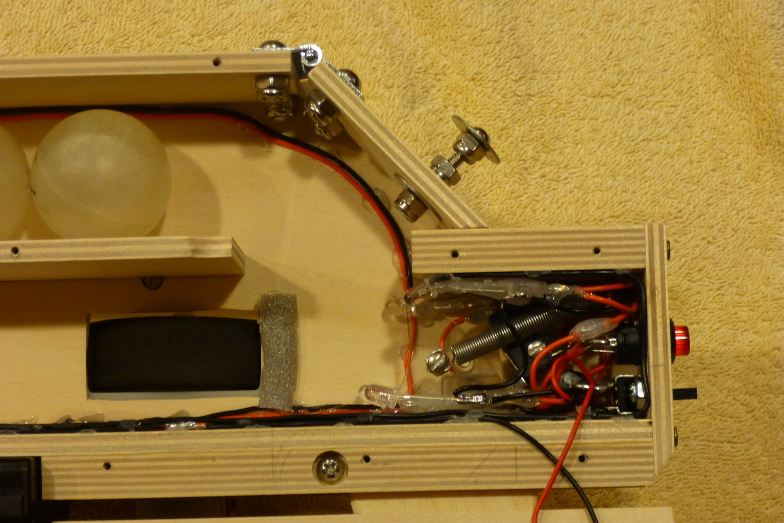 Add the Trigger and Motor Switches