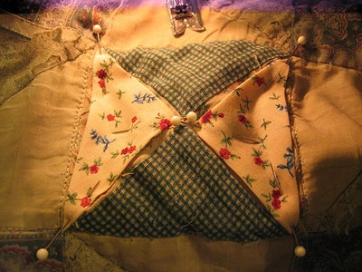 Sew or Embroider on the Patches