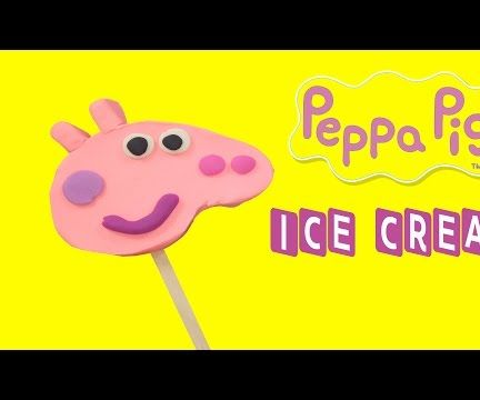 How to make Peppa Pig Ice Cream with Play Doh