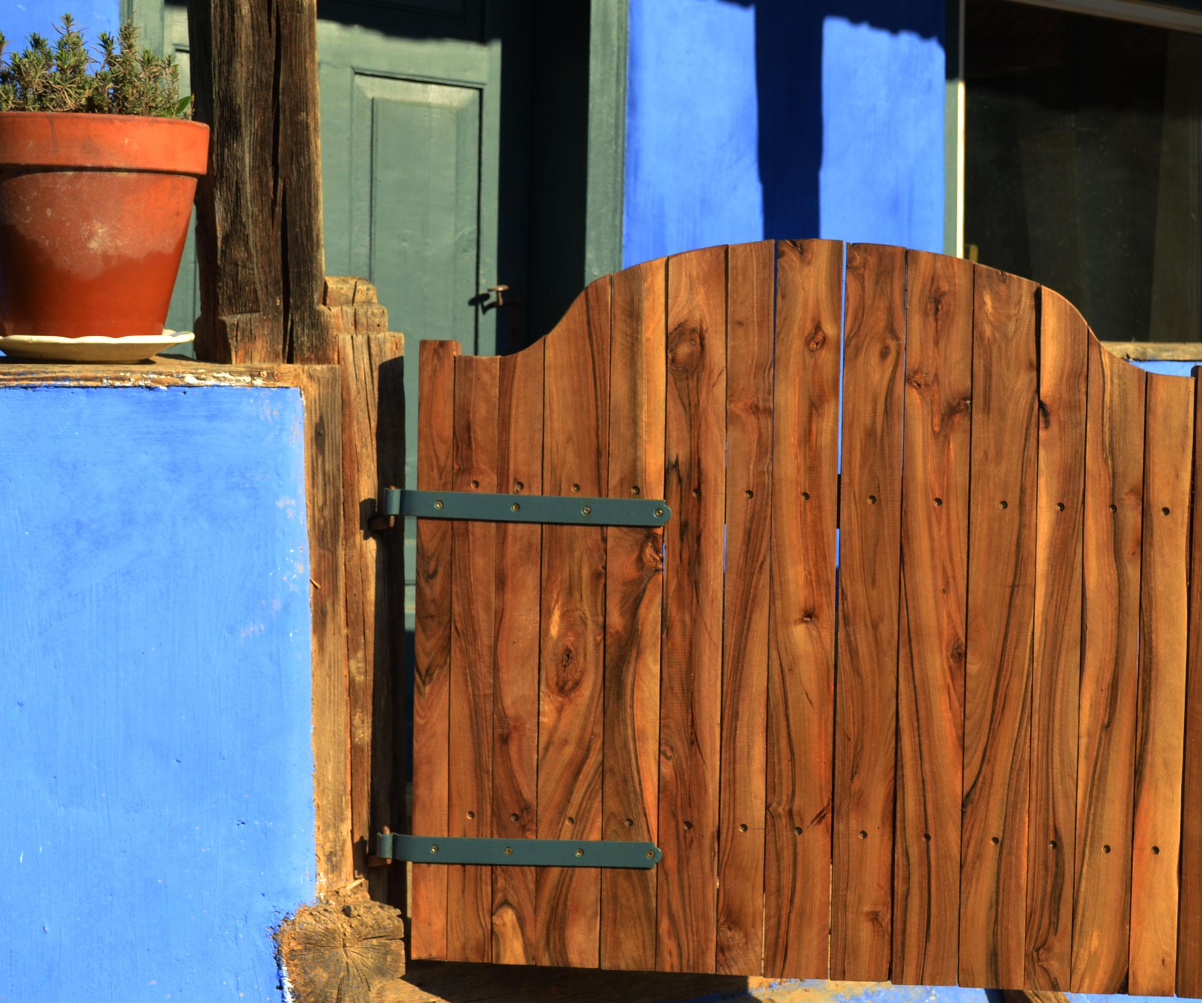 Walnut Porch Gate