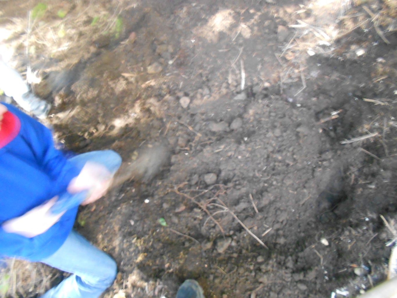 Pickaxing the Hole/Digging