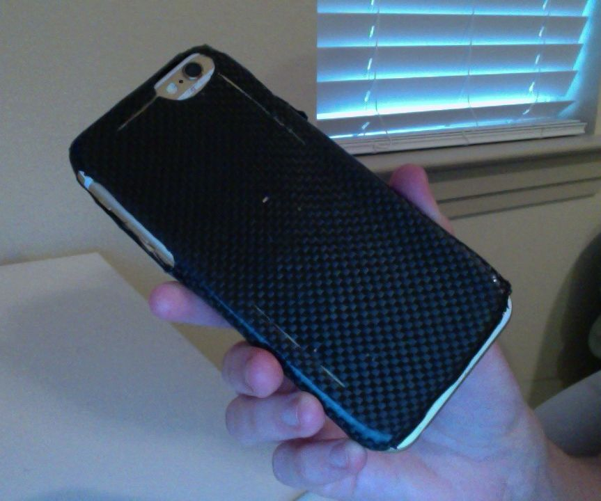How to Make a Carbon Fiber Phone Case