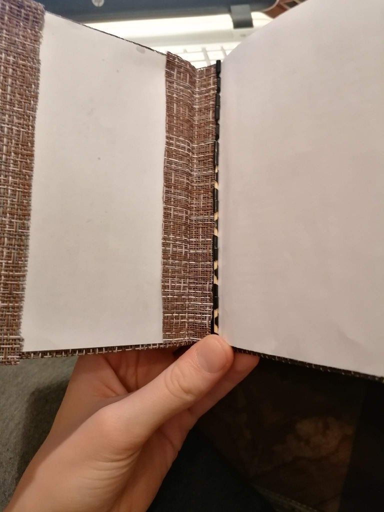 Simplest Resistant Bookbinding. (or Metalbind at Home)