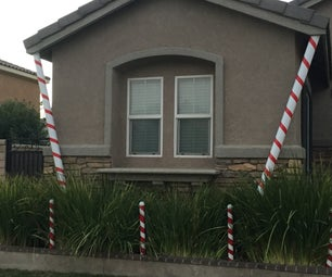 Quick Candy Cane Decoration
