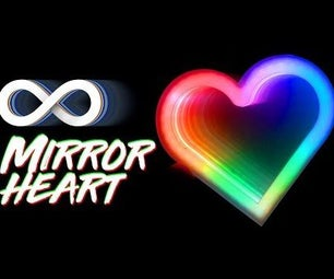 How to Make Infinity Mirror Heart With Arduino and RGB Leds