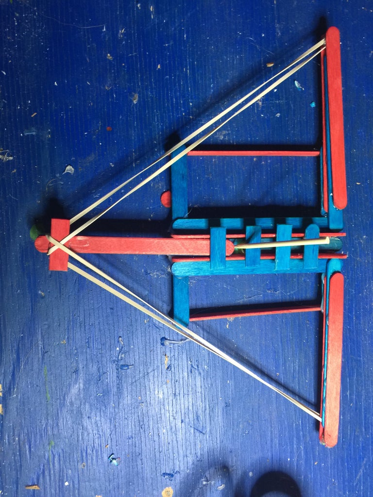 Simple Small Crossbow Style Bead Launcher