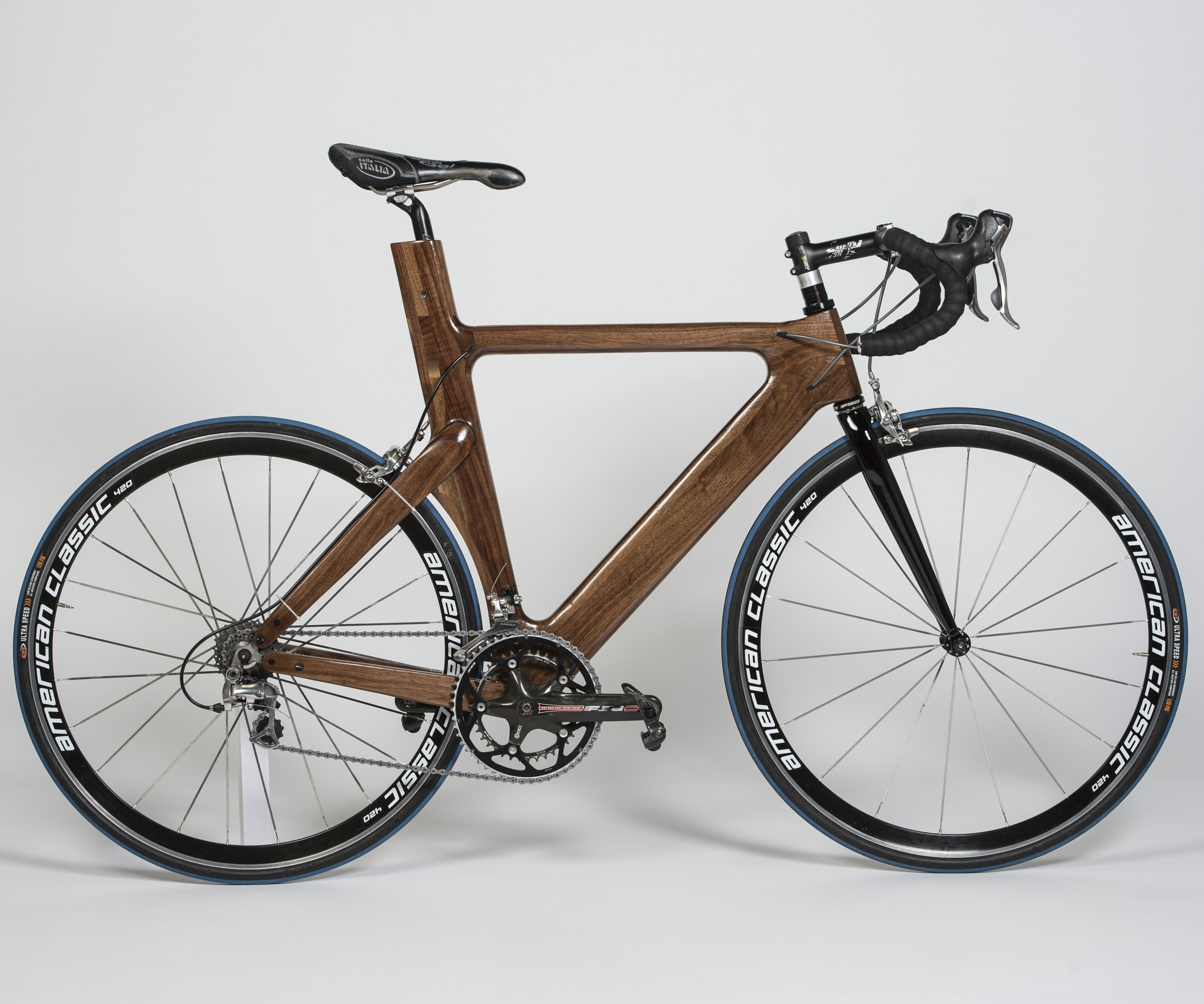 Walnut Wood (triathlon) Bicycle Frame