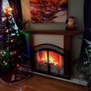 Digital Fireplace Screen