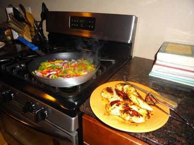 Multi-task: Tortillas and Enchilada Filling