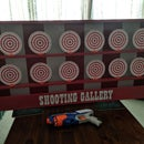 NERF Shooting Gallery