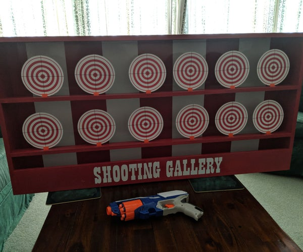 NERF Shooting Gallery