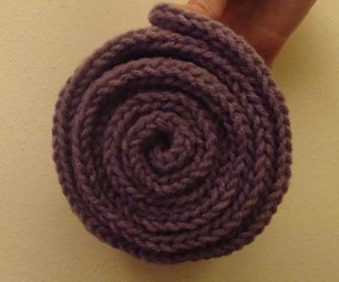 What's a Knitted Roll? (A Super Easy Craft.)