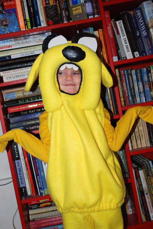 Adventure Time! Make Jake!
