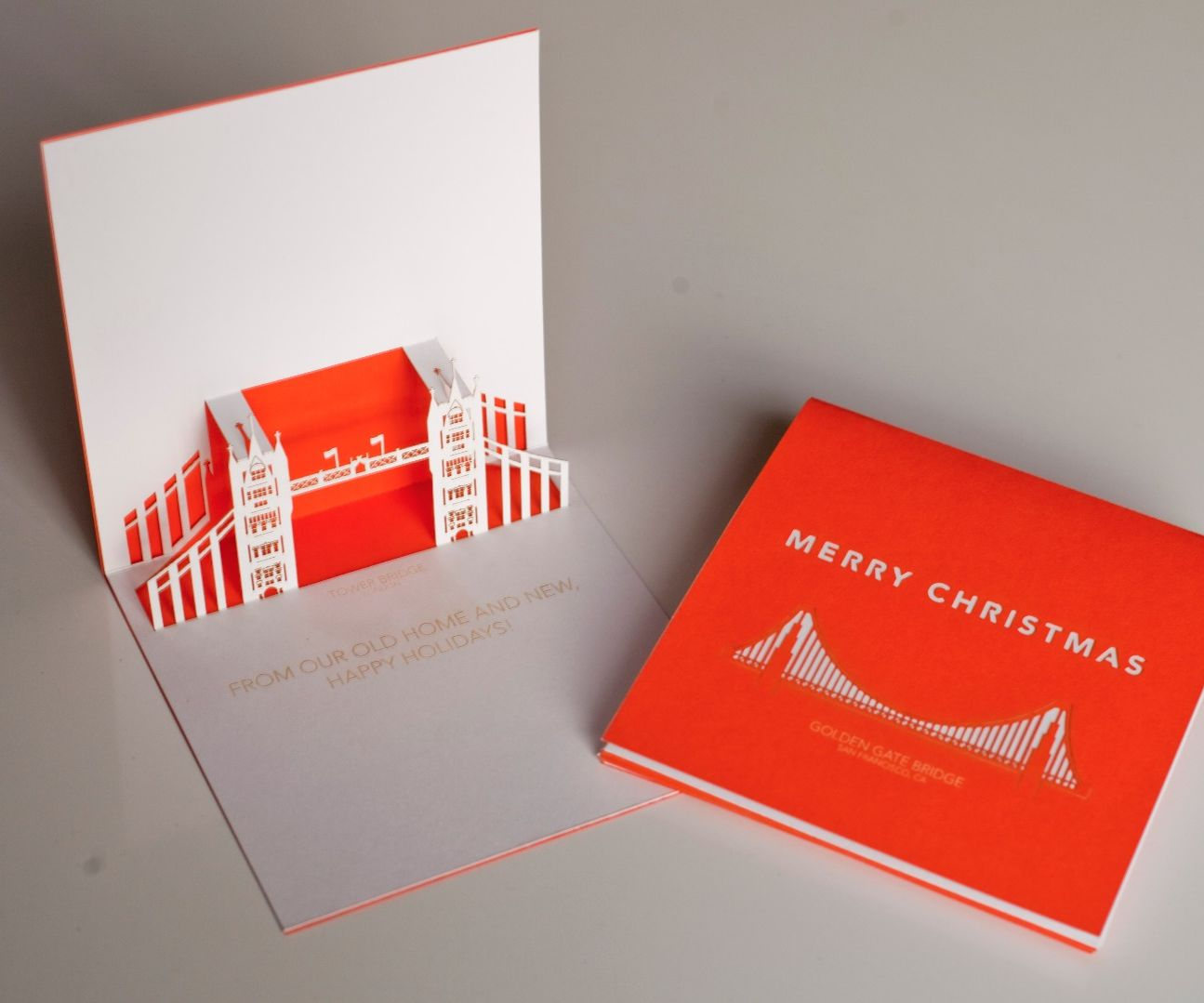 Pop-up Laser Cut Christmas Cards