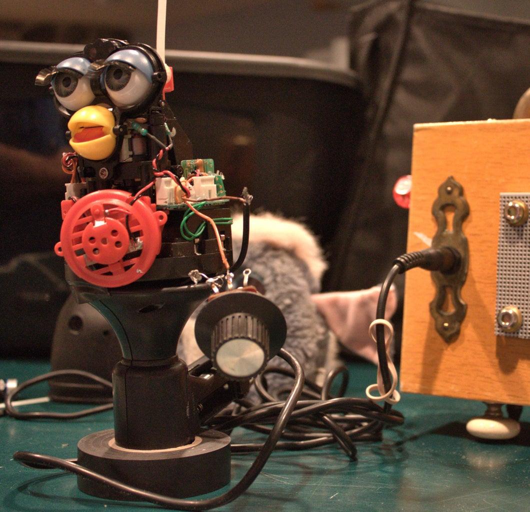 Voice Transforming Megaphone