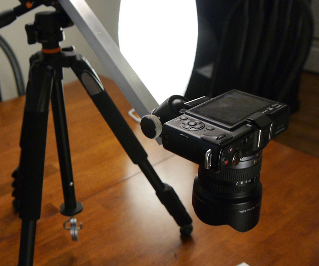 Simple Overhead Camera Rig / Mount