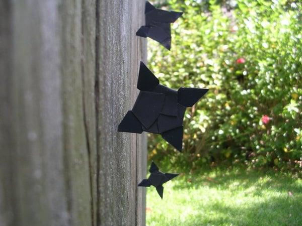 DIY Shuriken Throwing Stars