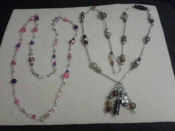 Bead and Chain Necklace