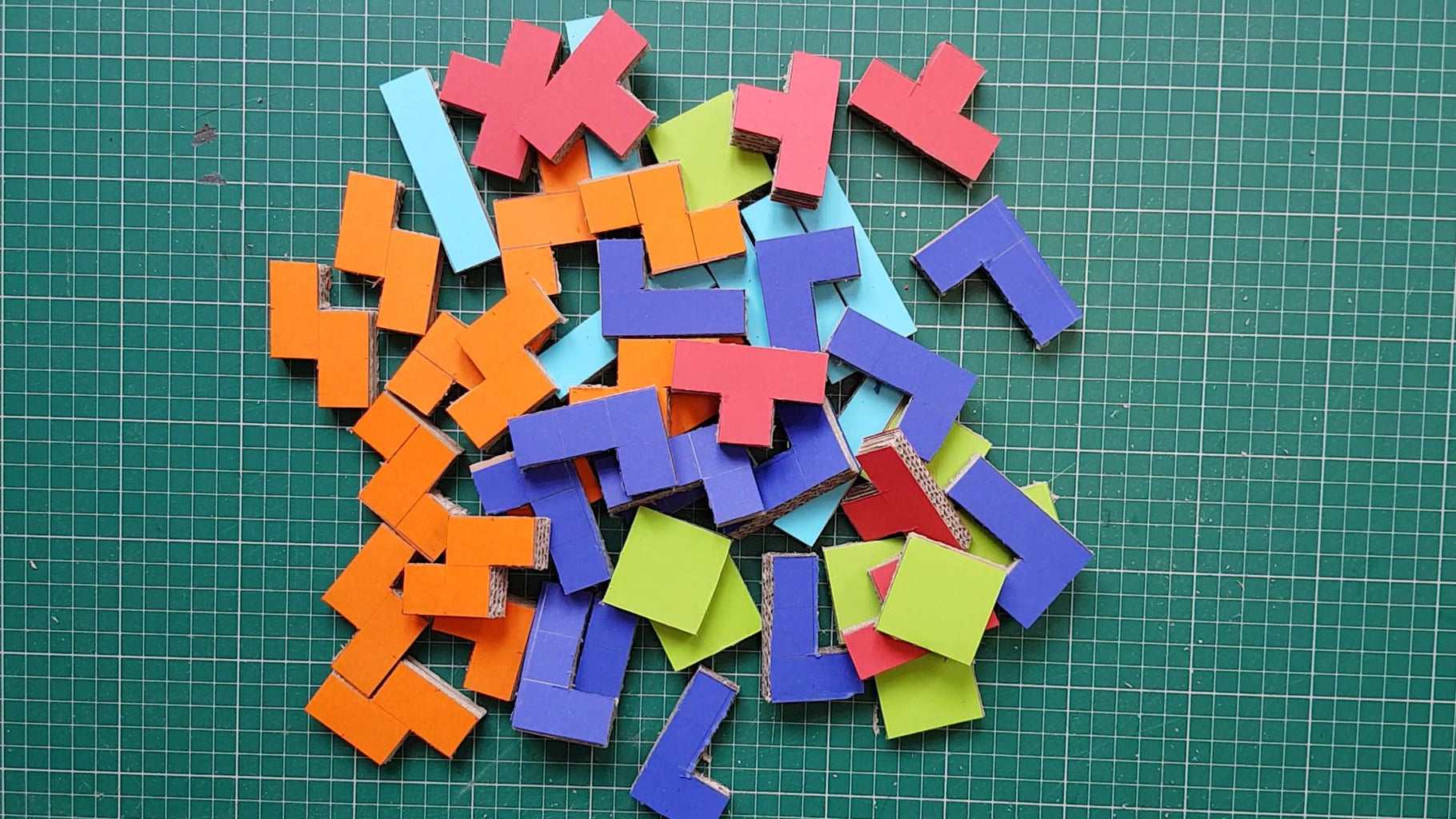 Make the Tetris Blocks