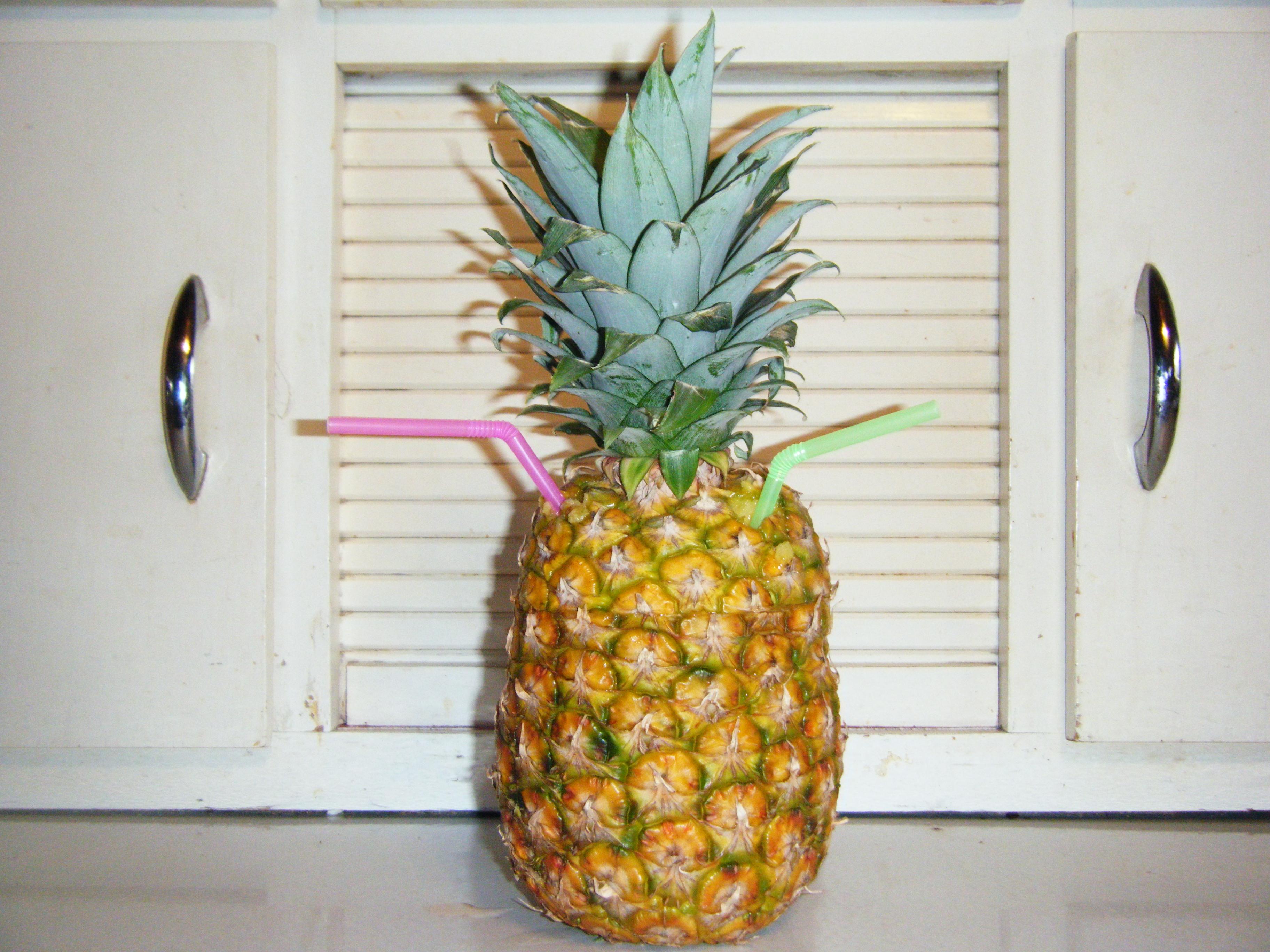 Strawberry Pineapple Mocktail