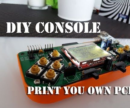 Making Makerbuino Game Console  From Scratch