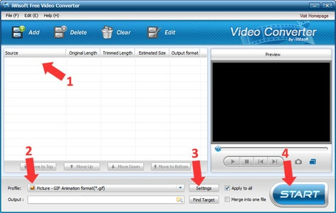 Converting Video to GIF