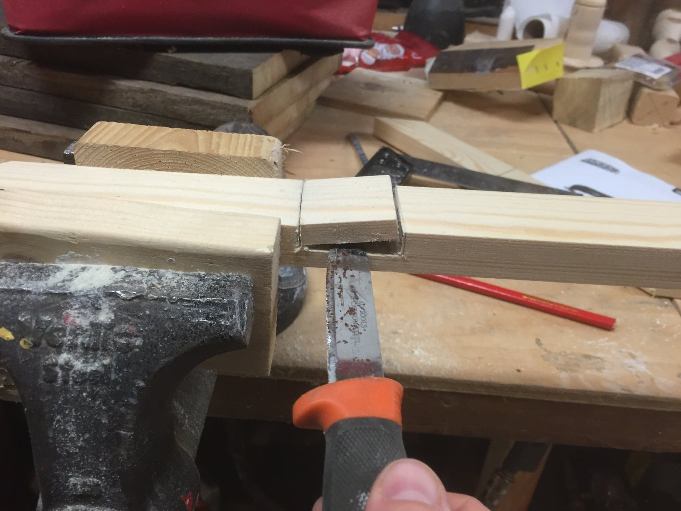 Making of the Cross
