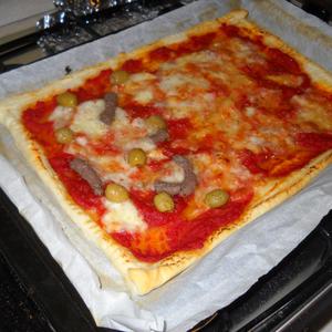 Simple & Quick Tasty  Pizza